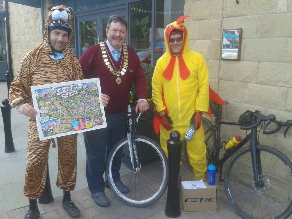 Steel Gravel Tour Fancy Dress Winner